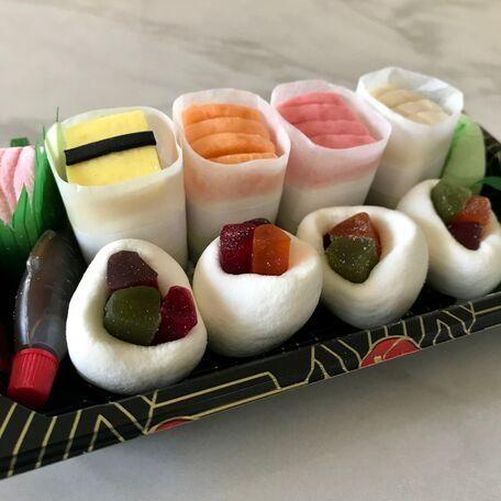 マシュマロで出来たお寿司