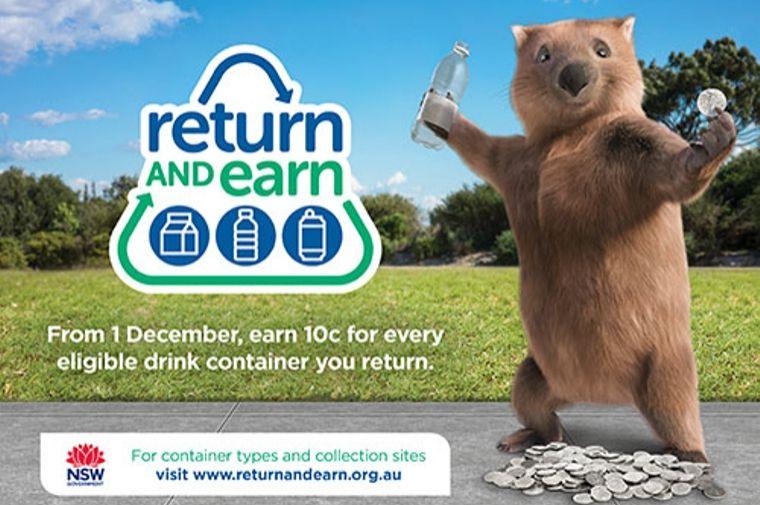 ペットボトルのリサイクルのポスター