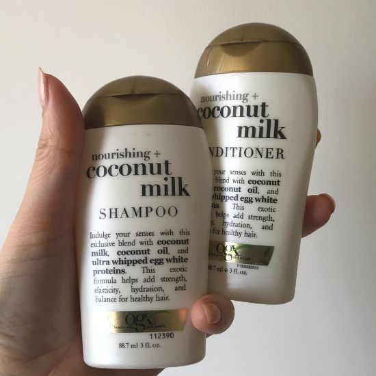 OGXココナッツミルク シャンプー