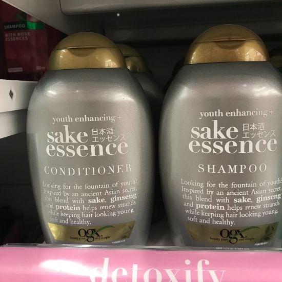 OGX Sake Essence Shampoo