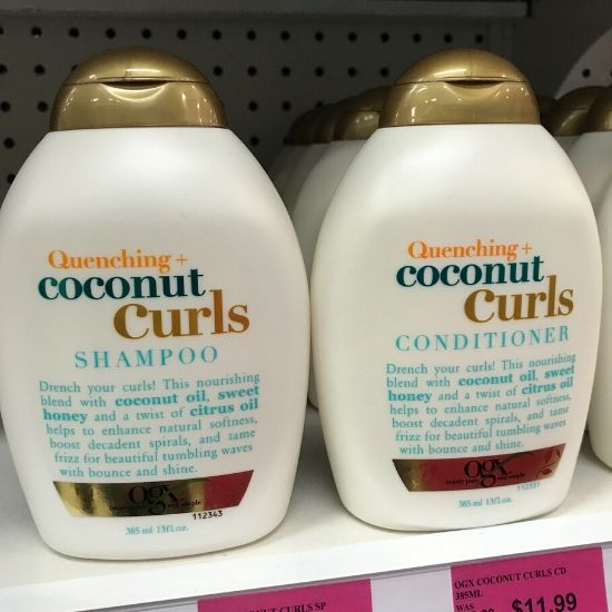 OGXシャンプー ココナッツ