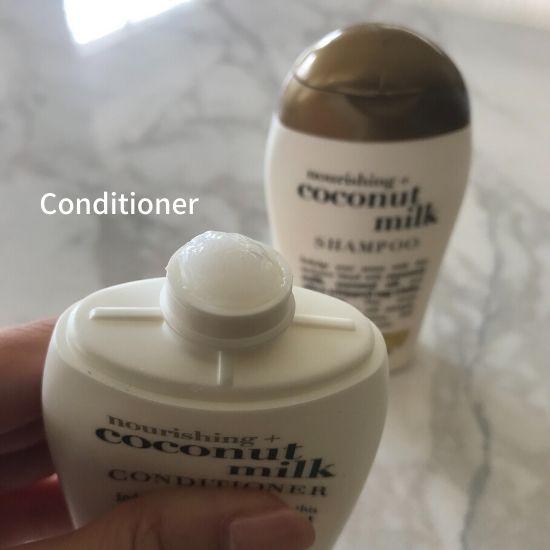 OGXココナッツミルク コンディショナー