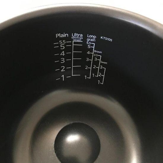 炊飯ジャーのお釜